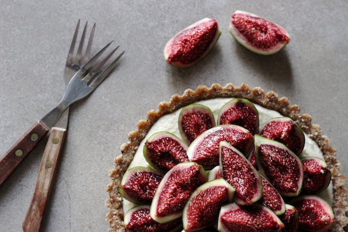 Raw Fig & Honey Tart